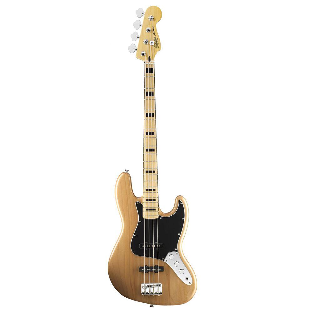 Contrabaixo Fender Squier Vintage Modified J Bass 70 Natural