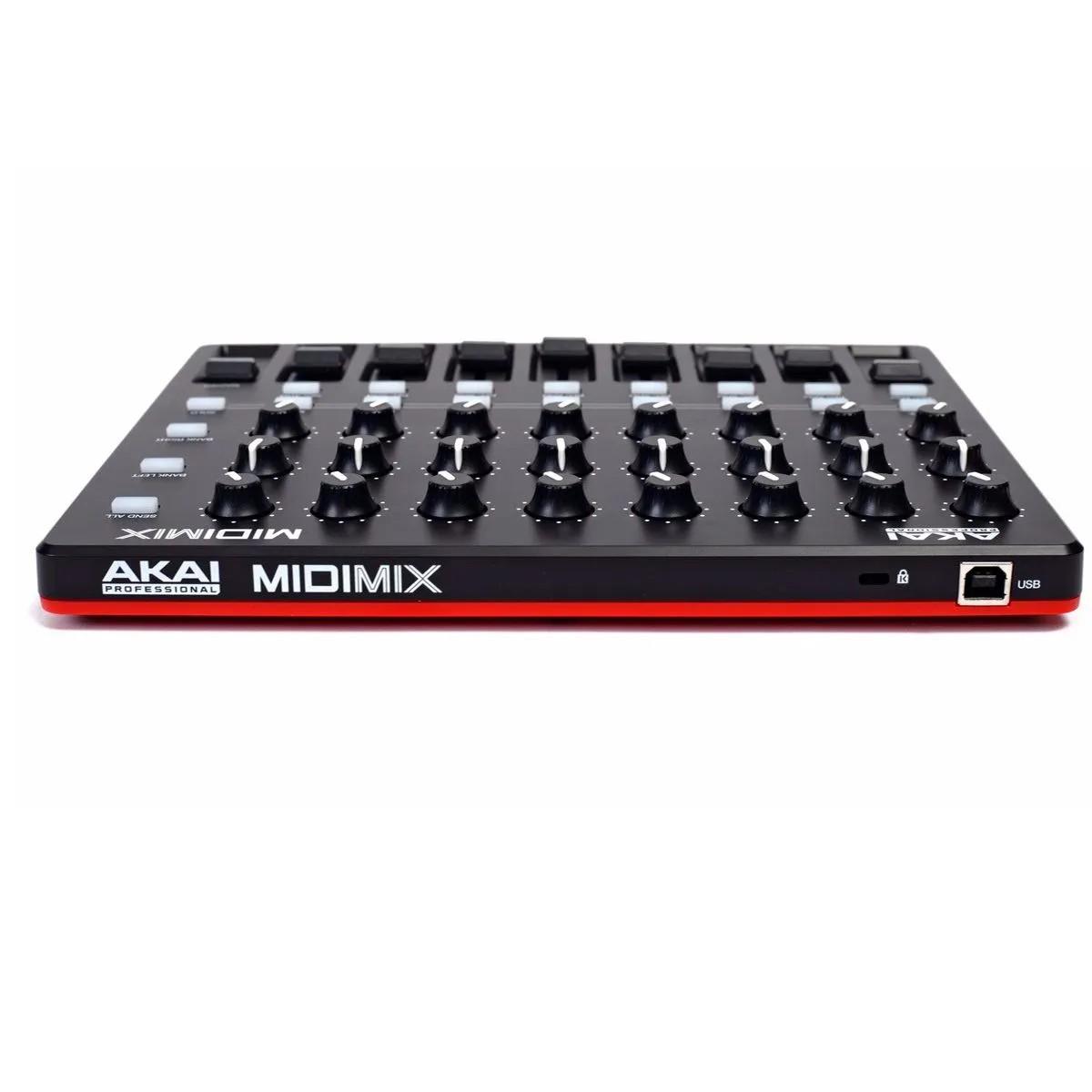 Controlador Akai Professional MIDIMIX USB