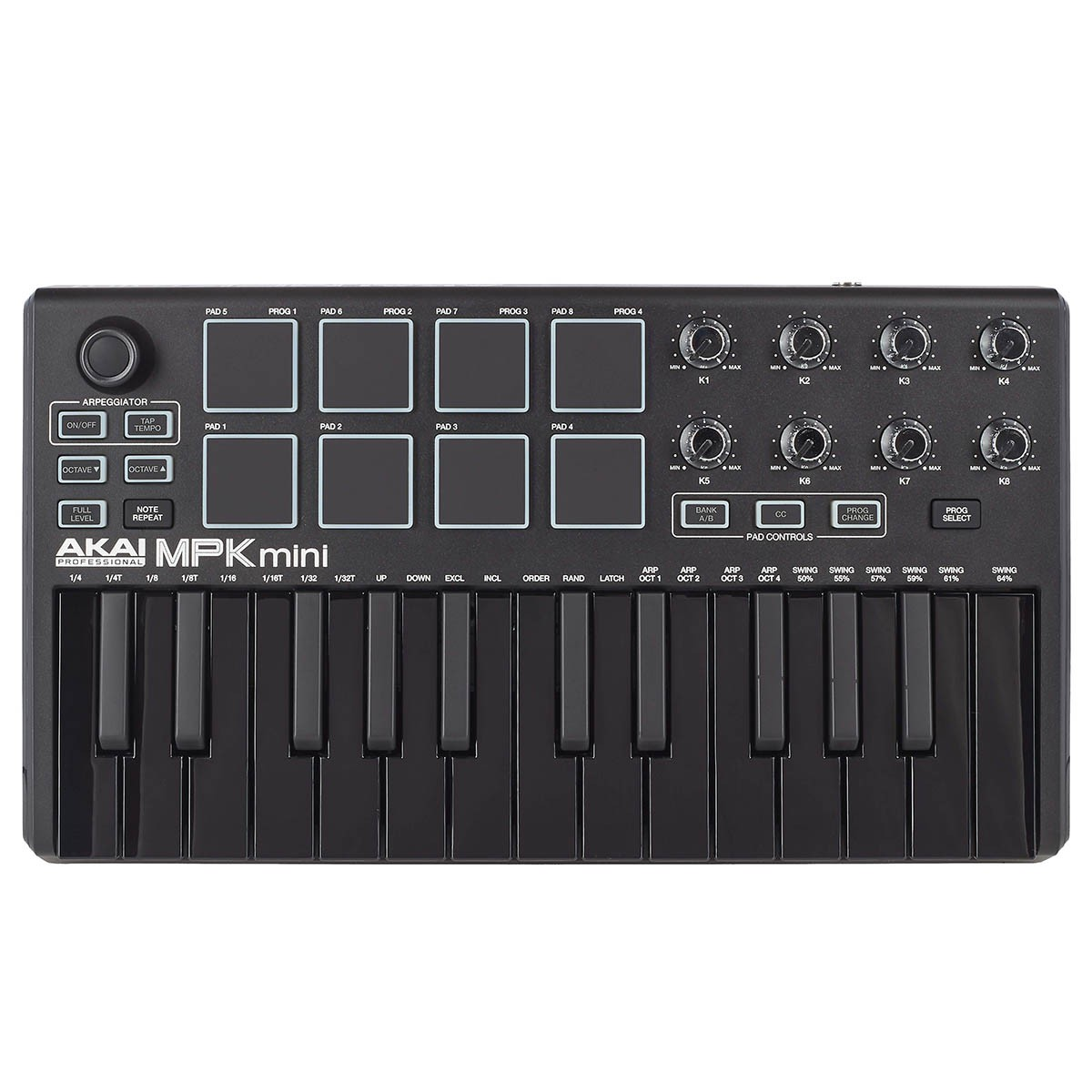 Controlador Akai Professional MPK Mini MK2 25 Teclas Black