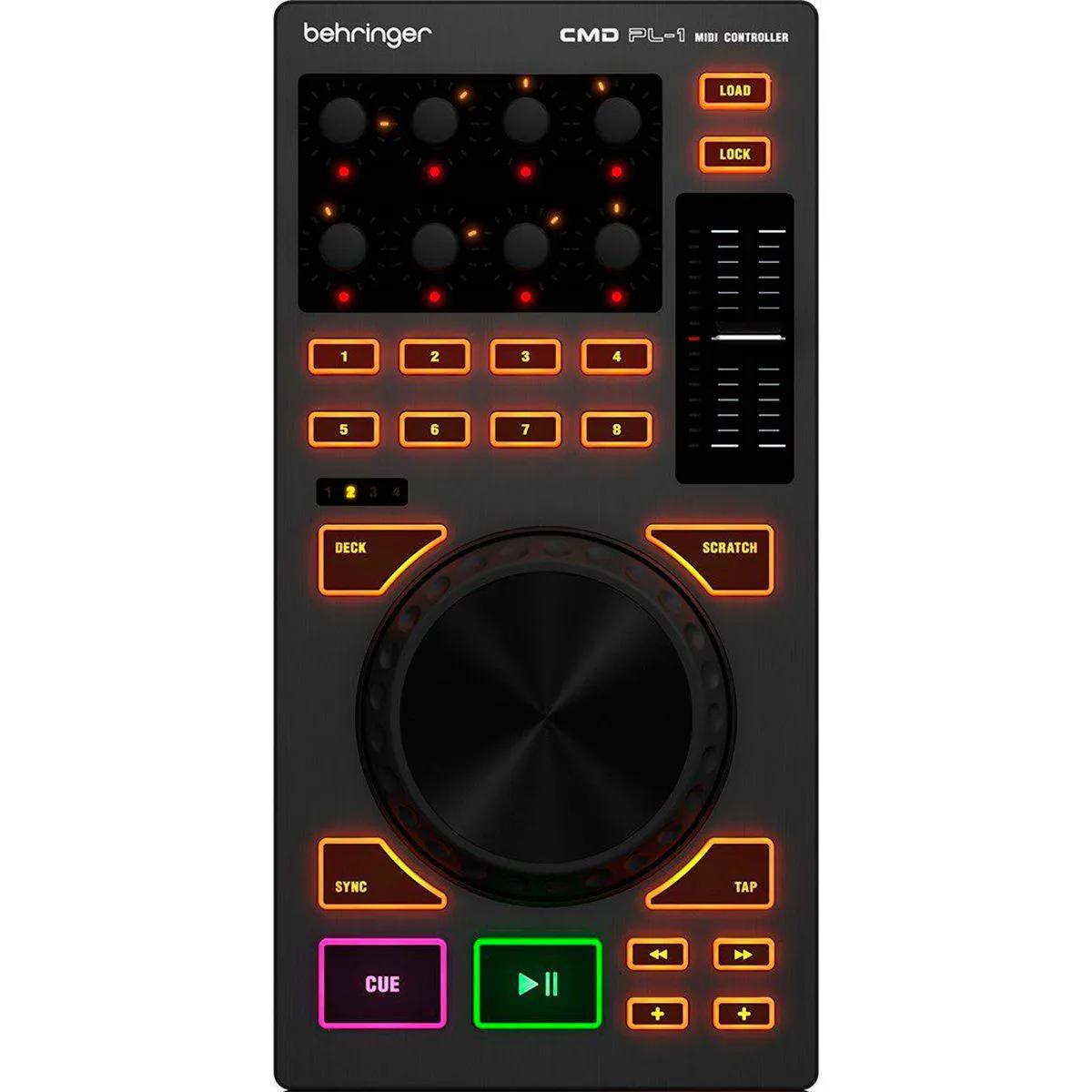 Controlador Behringer CMD PL-1 DJ USB