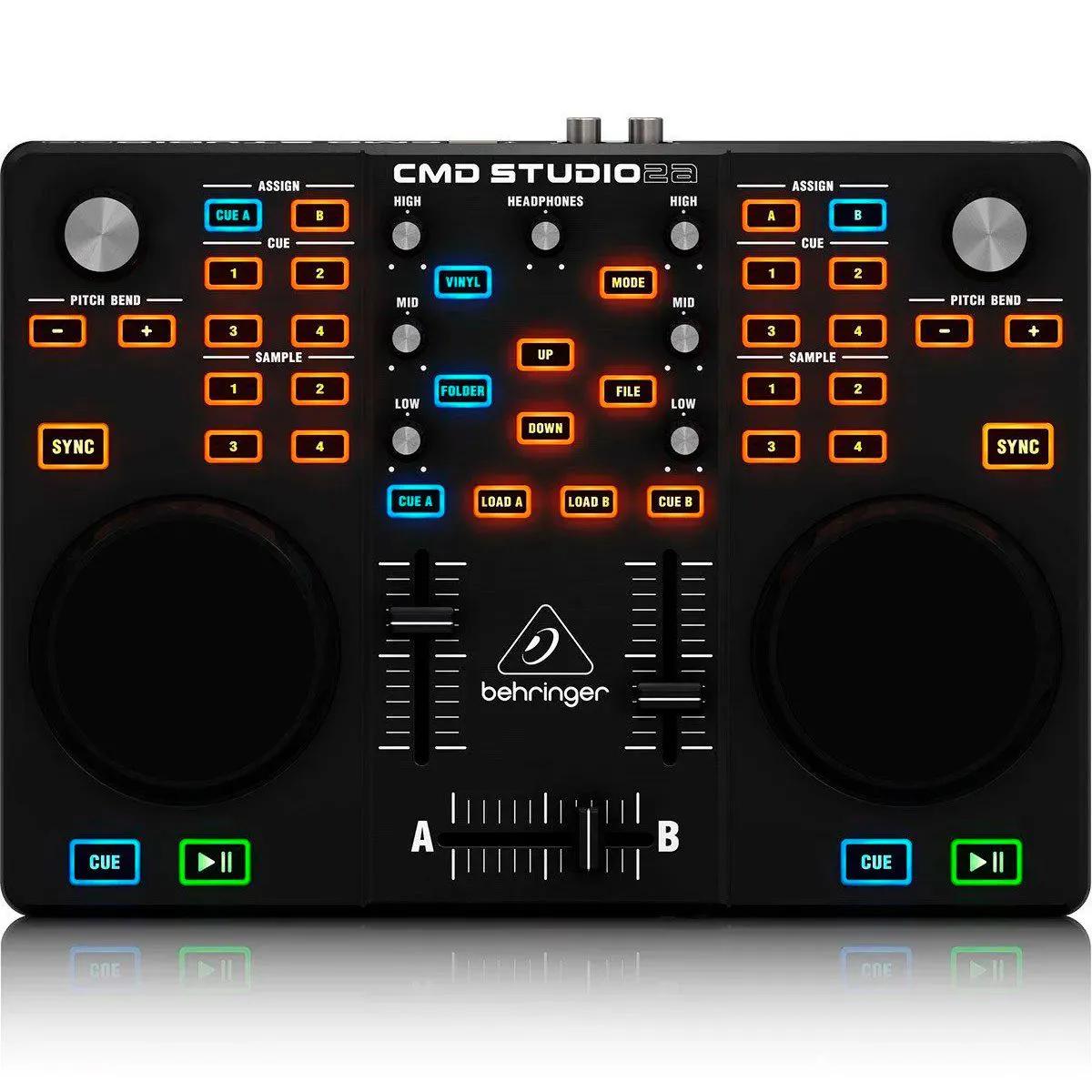 Controlador Behringer CMD Studio 2A DJ USB