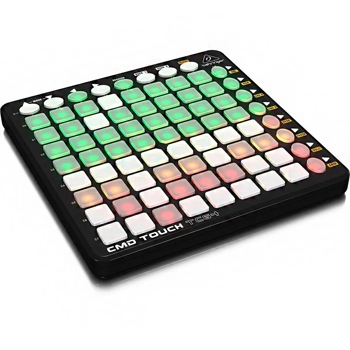 Controlador Behringer CMD-Touch TC64 DJ USB