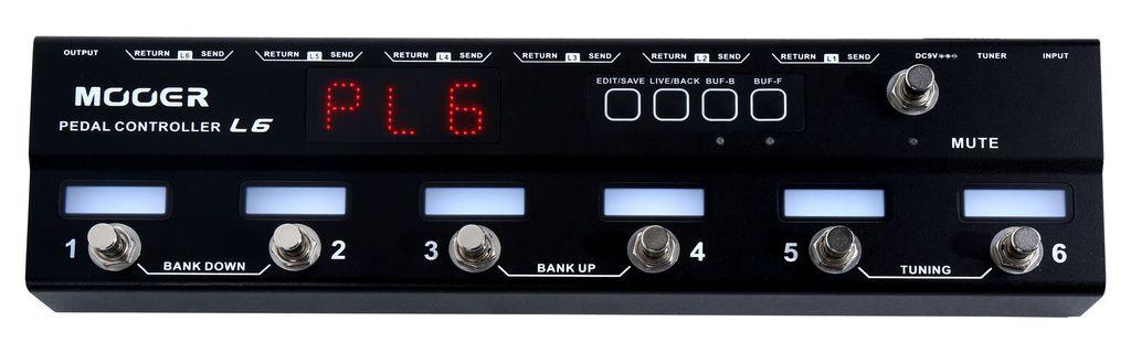 Controlador de Pedais Mooer PCL6 6 Canais