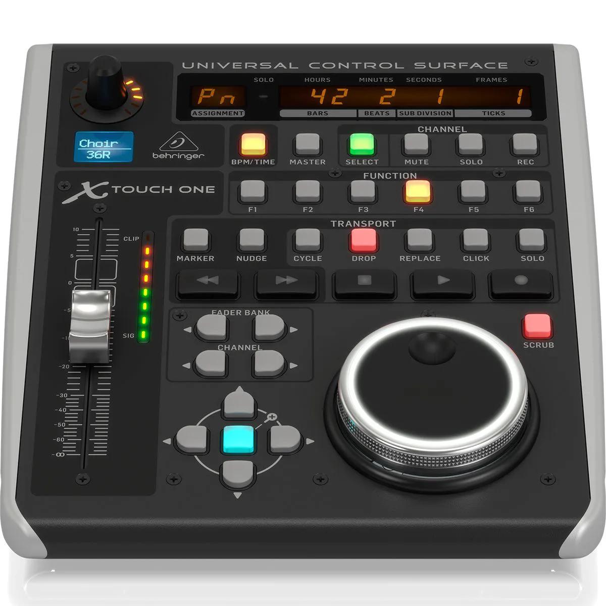 Controlador de Software Behringer X-TOUCH ONE Universal