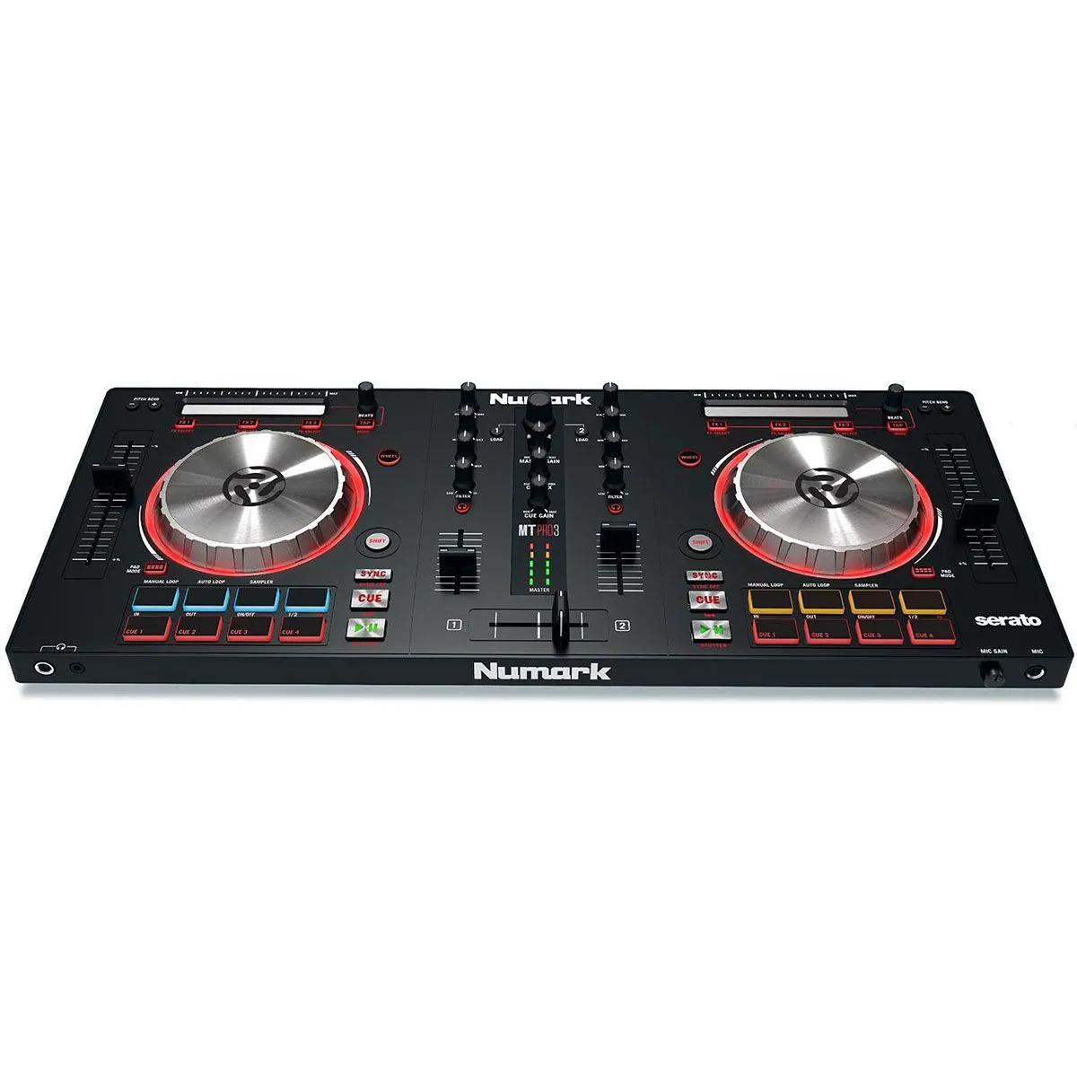 Controlador DJ Numark Mixtrack Pro 3 USB Serato DJ