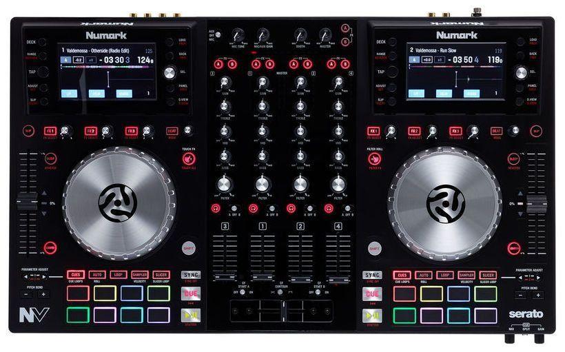 Controlador DJ Numark NV 4 Decks Serato DJ