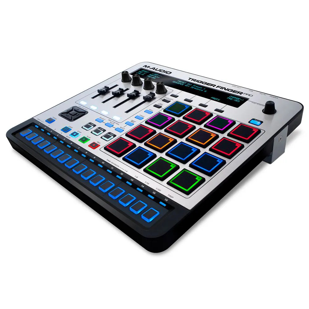Controlador M-Audio Trigger Finger Pro