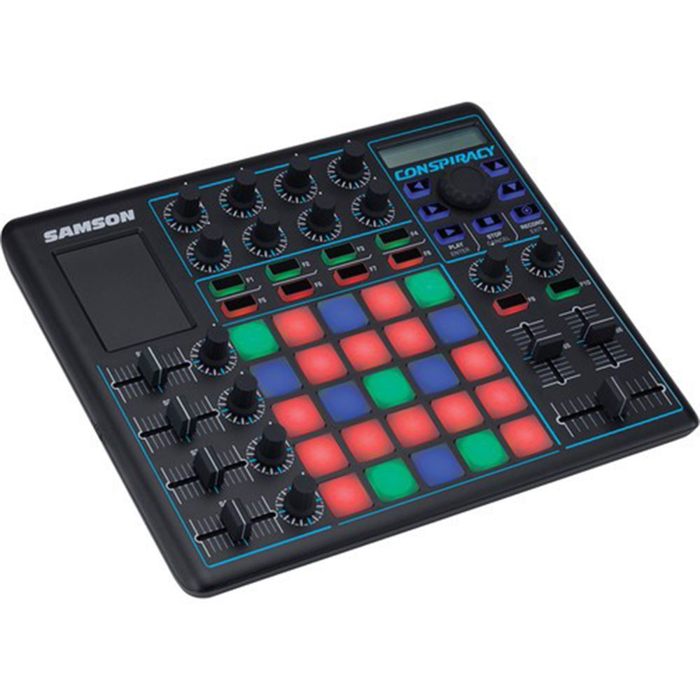 Controlador Samson Conspiracy 25 Pads USB/MIDI