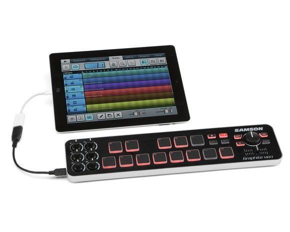Controlador Samson Graphite MD13 Midi 13 Pads USB