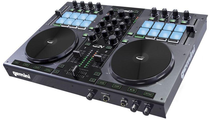 Controladora DJ Gemini G2V USB 2 Canais