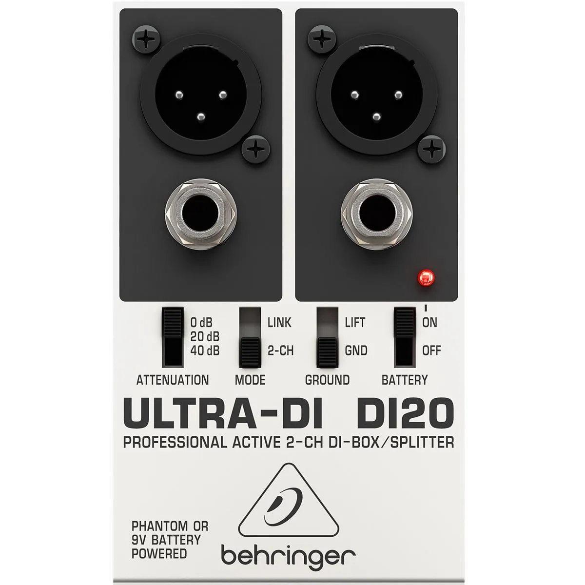 Direct Box Ativo Behringer Ultra-DI DI20