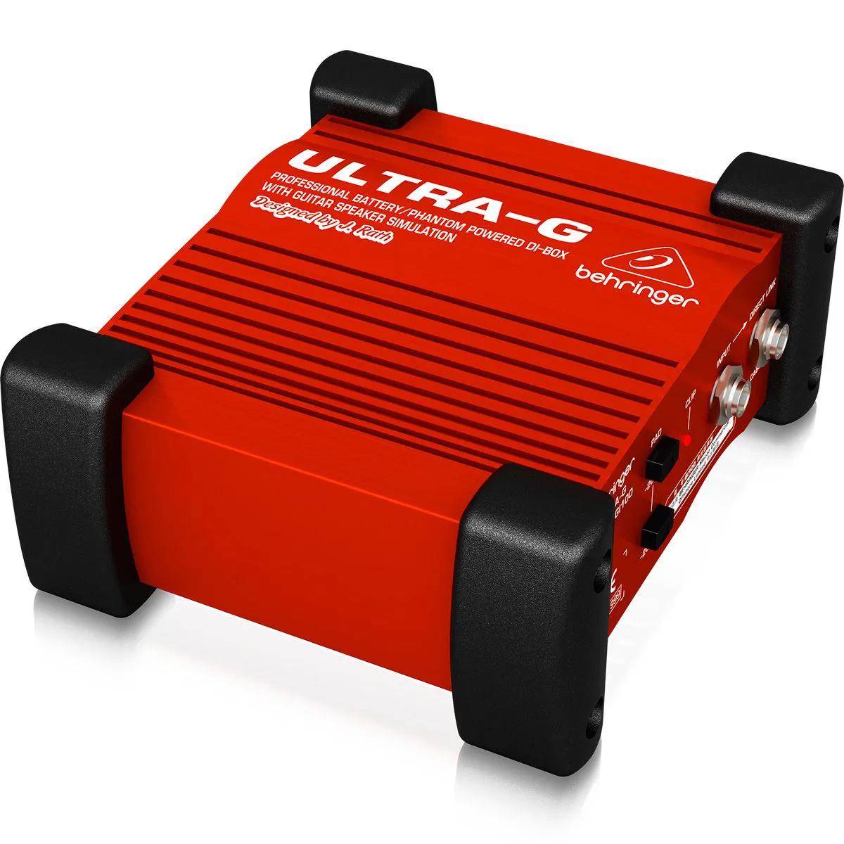 Direct Box Ativo Behringer ULTRA-G GI100 para Guitarra
