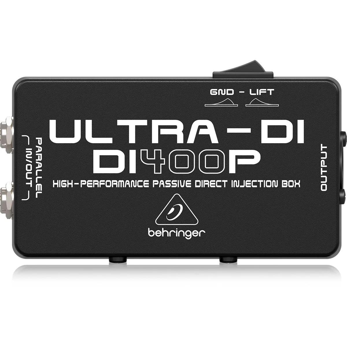 Direct Box Passivo Behringer Ultra-DI DI400P