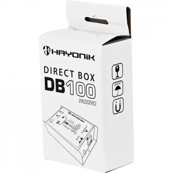 Direct Box Passivo DB100 Preto HAYONIK