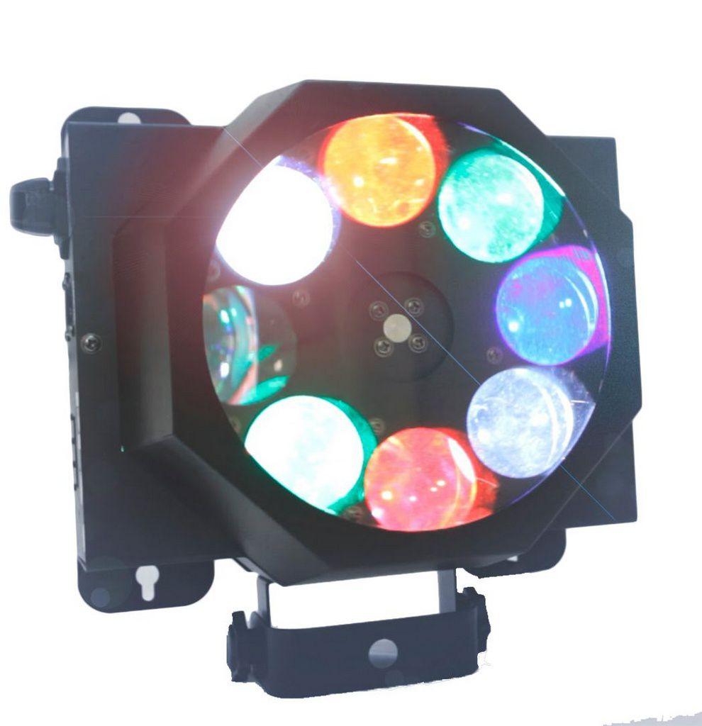 Efeito de Luz PLS Disco Led 40w RGBW