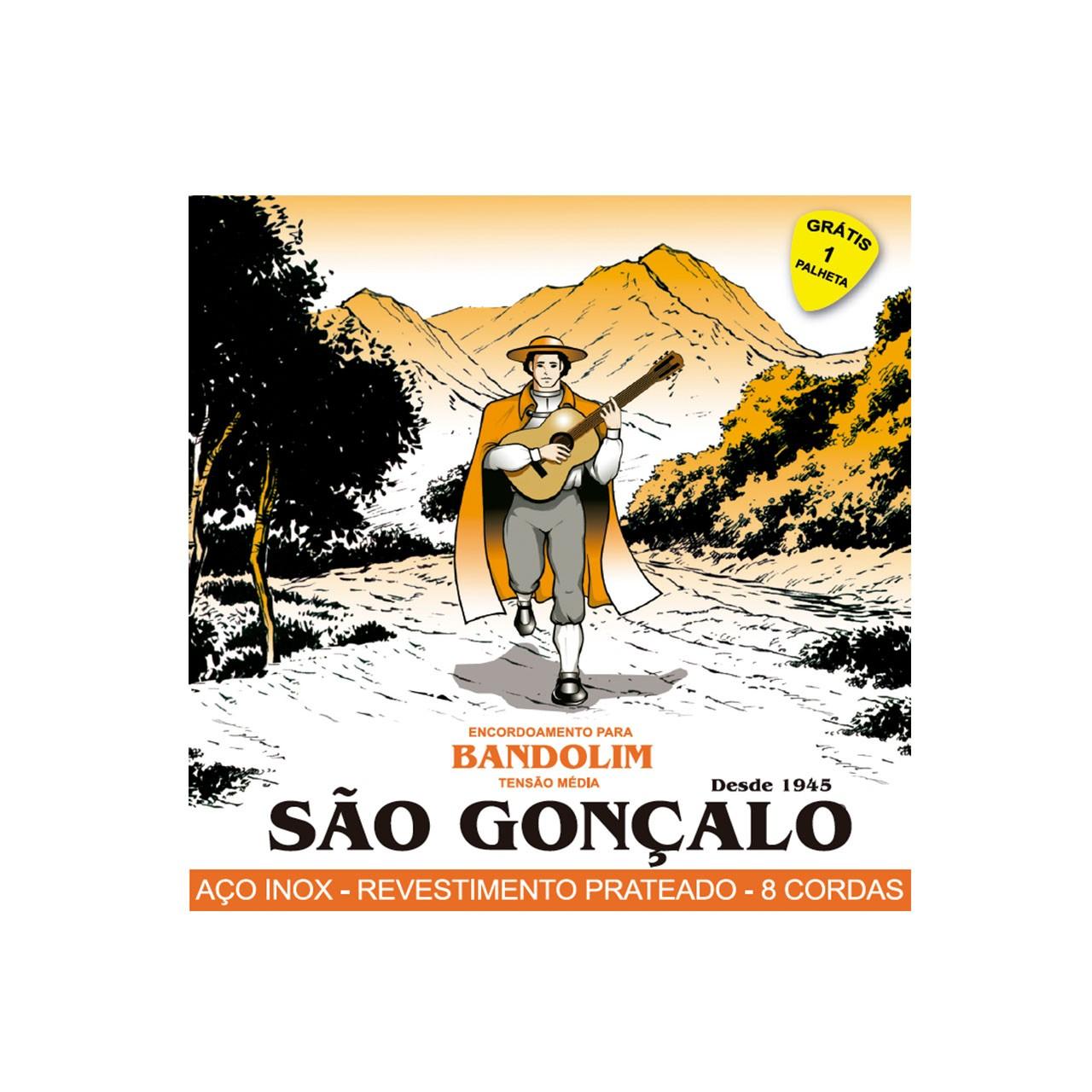Enc. P/bandolim Cx C/12 Sao Goncalo
