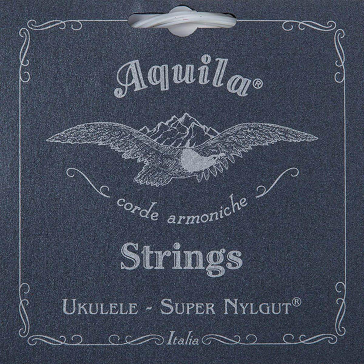 Encordoamento Aquila 100u Super Nylgut High G Soprano