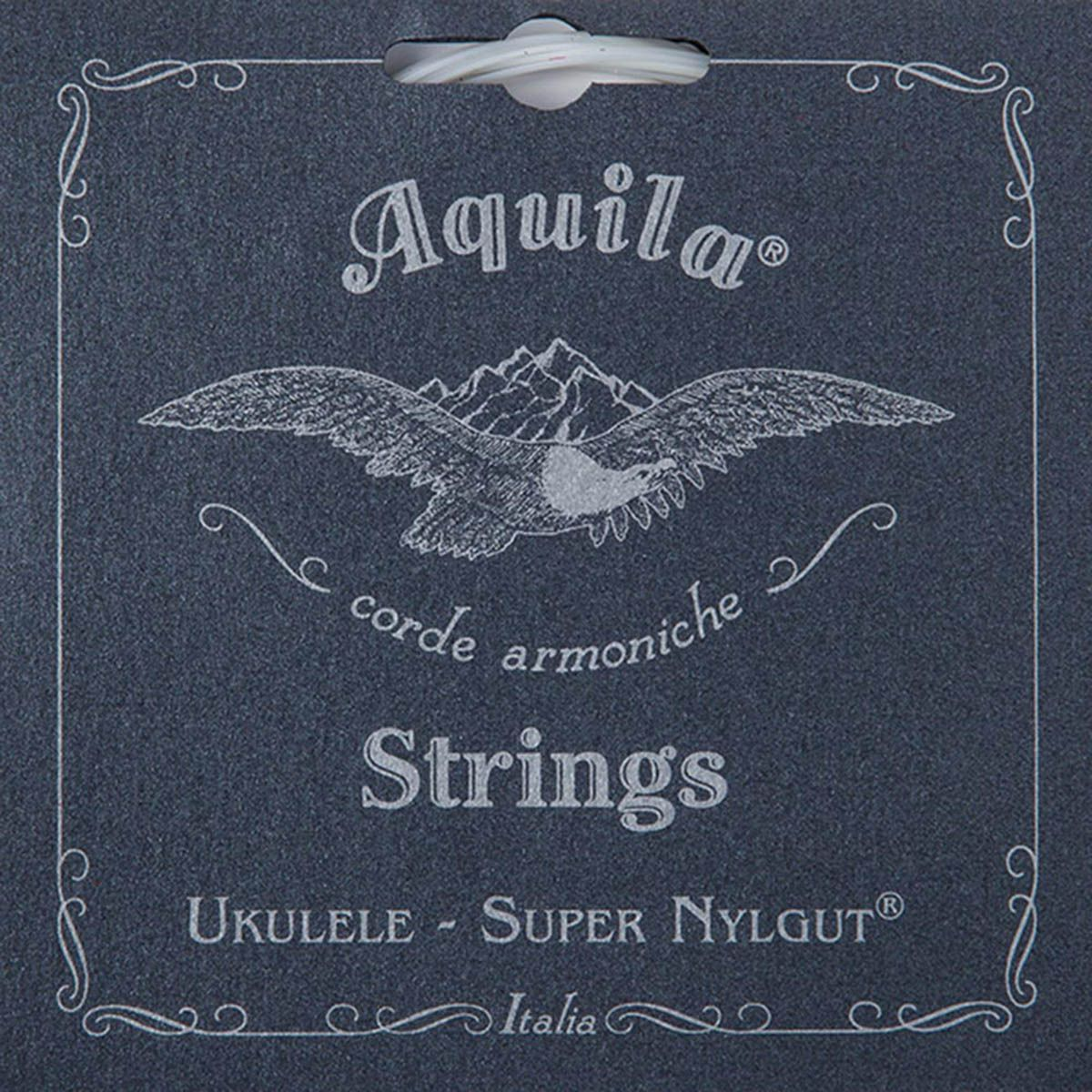 Encordoamento Aquila 106u Super Nylgut High G Ukulele Tenor