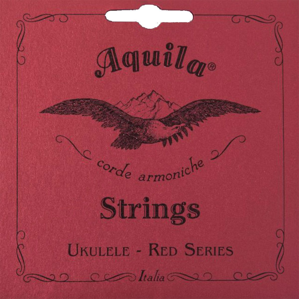 Encordoamento Aquila 87U Red Series High G Ukulele Tenor