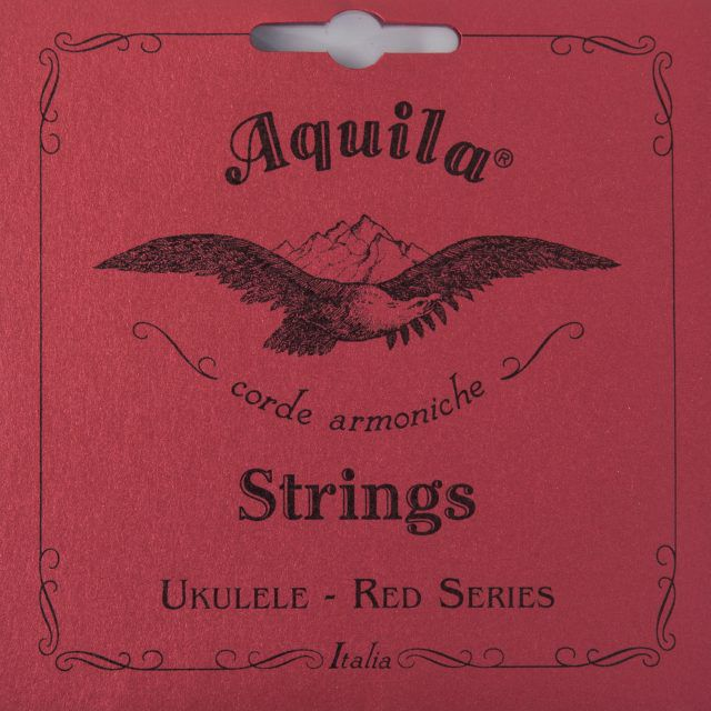 Encordoamento Aquila 88U Red Series Low G Ukulele Tenor