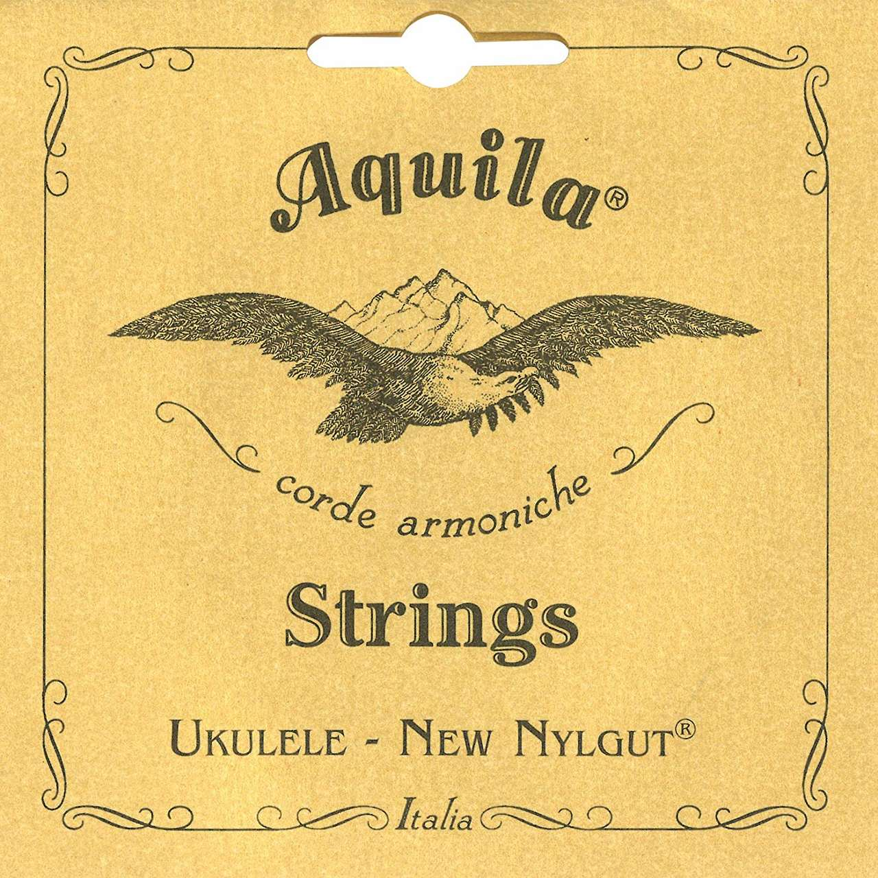 Encordoamento Aquila 8U New Nylgut Low G Ukulele Concert
