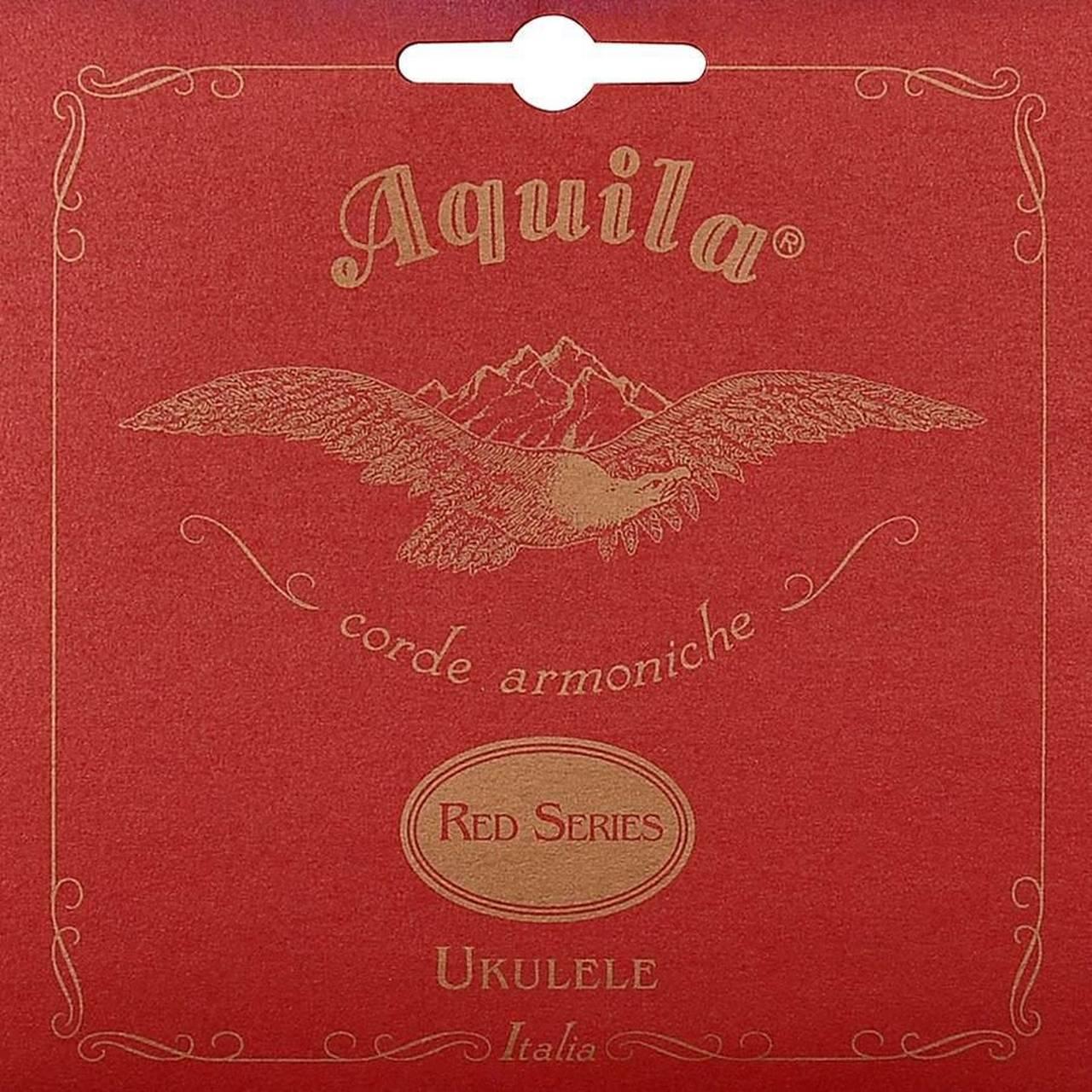 Encordoamento Aquila AQ 85U Red Series High G Ukulele Concert