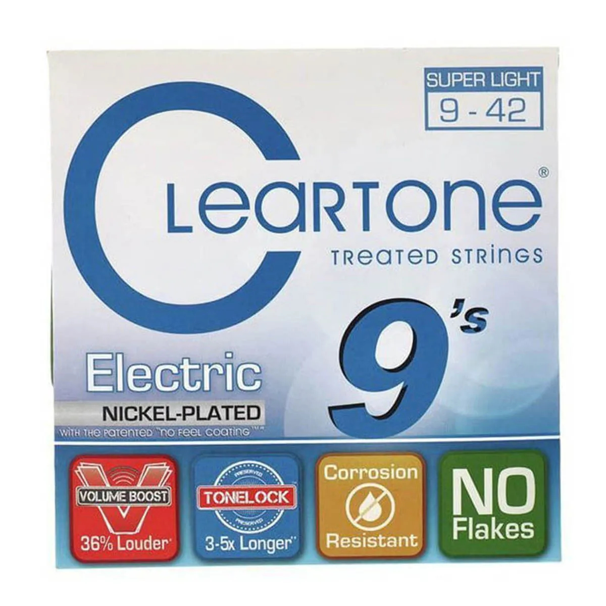 Encordoamento Cleartone 9409 Electric .09/.42 Guitarra