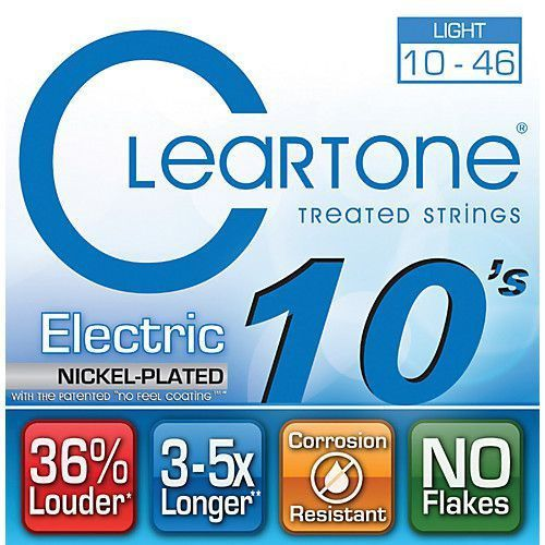 Encordoamento Cleartone 9410 Electric .10''/.46'' para Guitarra