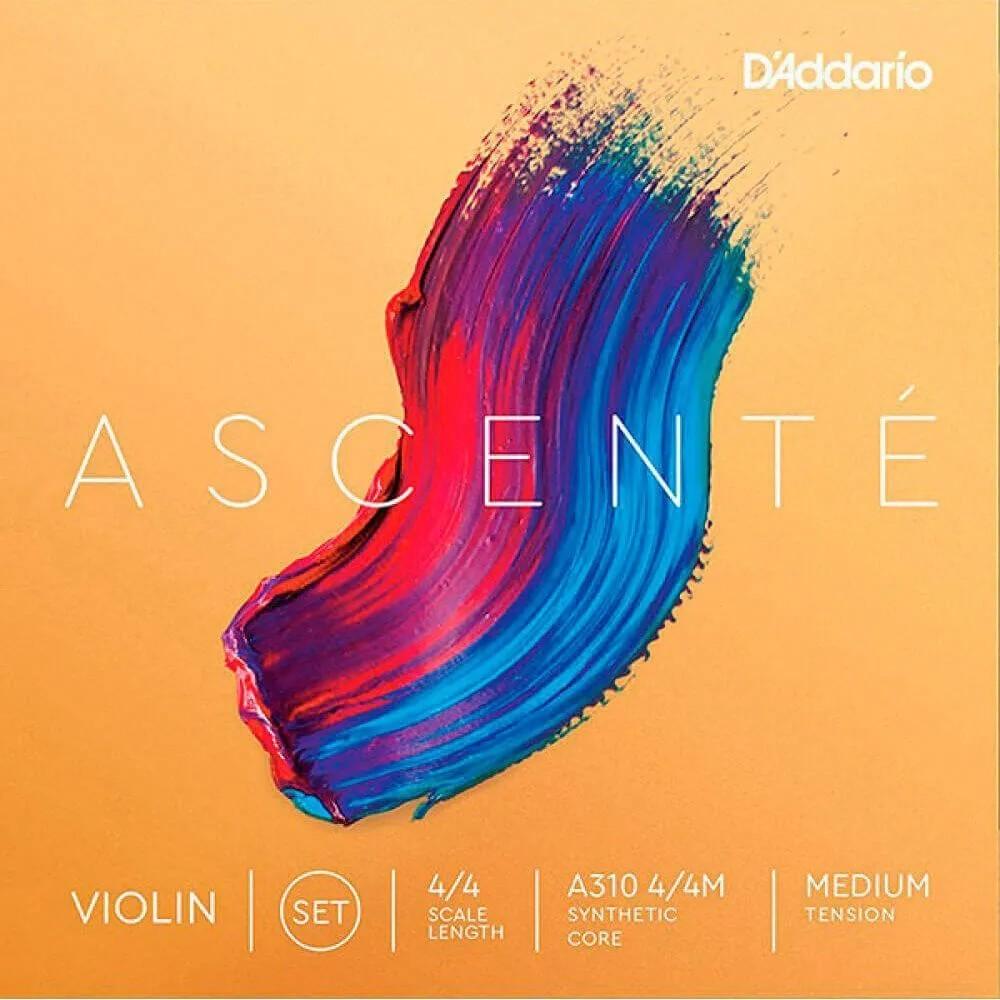 Encordoamento D'addario A310 Ascenté Tensão Média P/ Violino