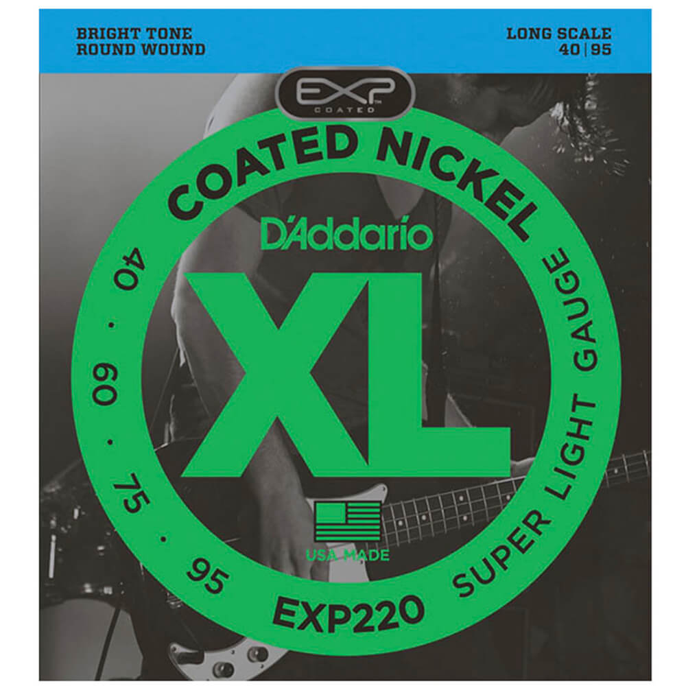 Encordoamento D'addario EXP220 4C .40/.95 para Contrabaixo