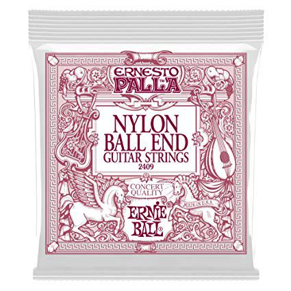 Encordoamento Ernie Ball Ernesto Palla Black Gold .028 Nylon para Violão