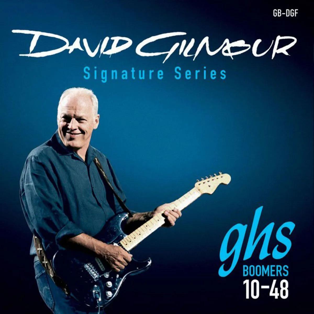 Encordoamento GHS Boomers 010/048 GB DGF para Guitarra