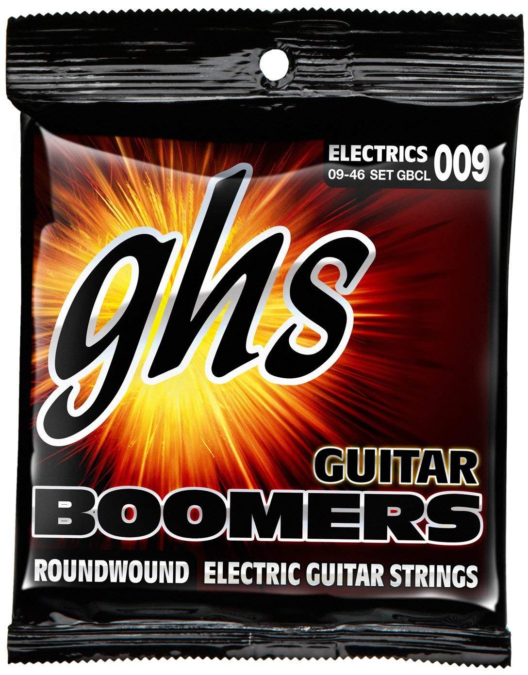 Encordoamento GHS GBCL Boomers .009 /.046 para Guitarra