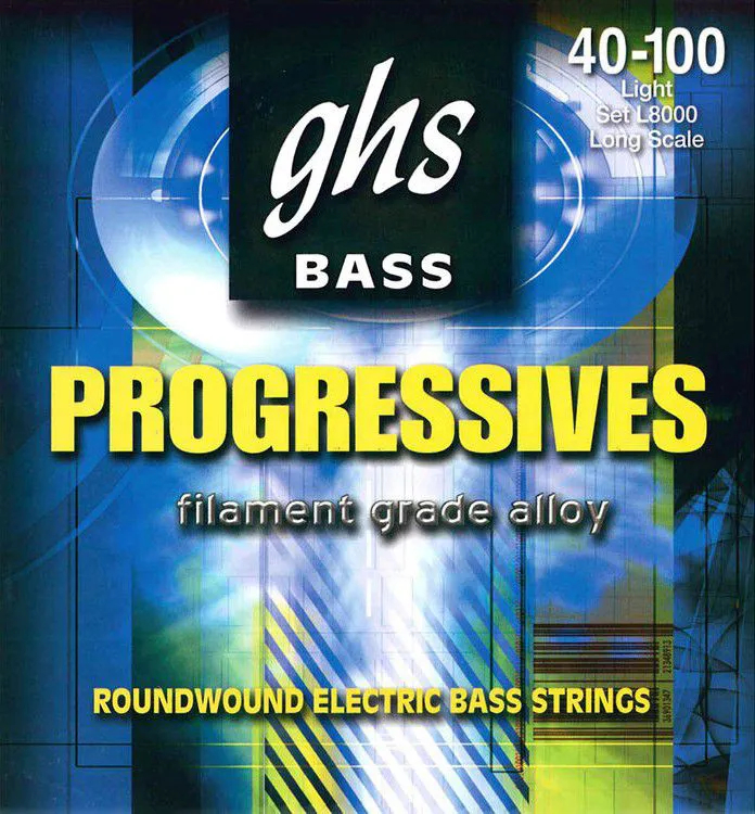 Encordoamento Ghs L8000 Bass Progressives .040 /.100