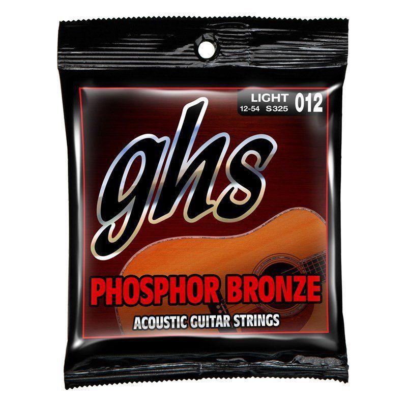 Encordoamento GHS S325 Phosphor Bronze .012 /.054 para Violão