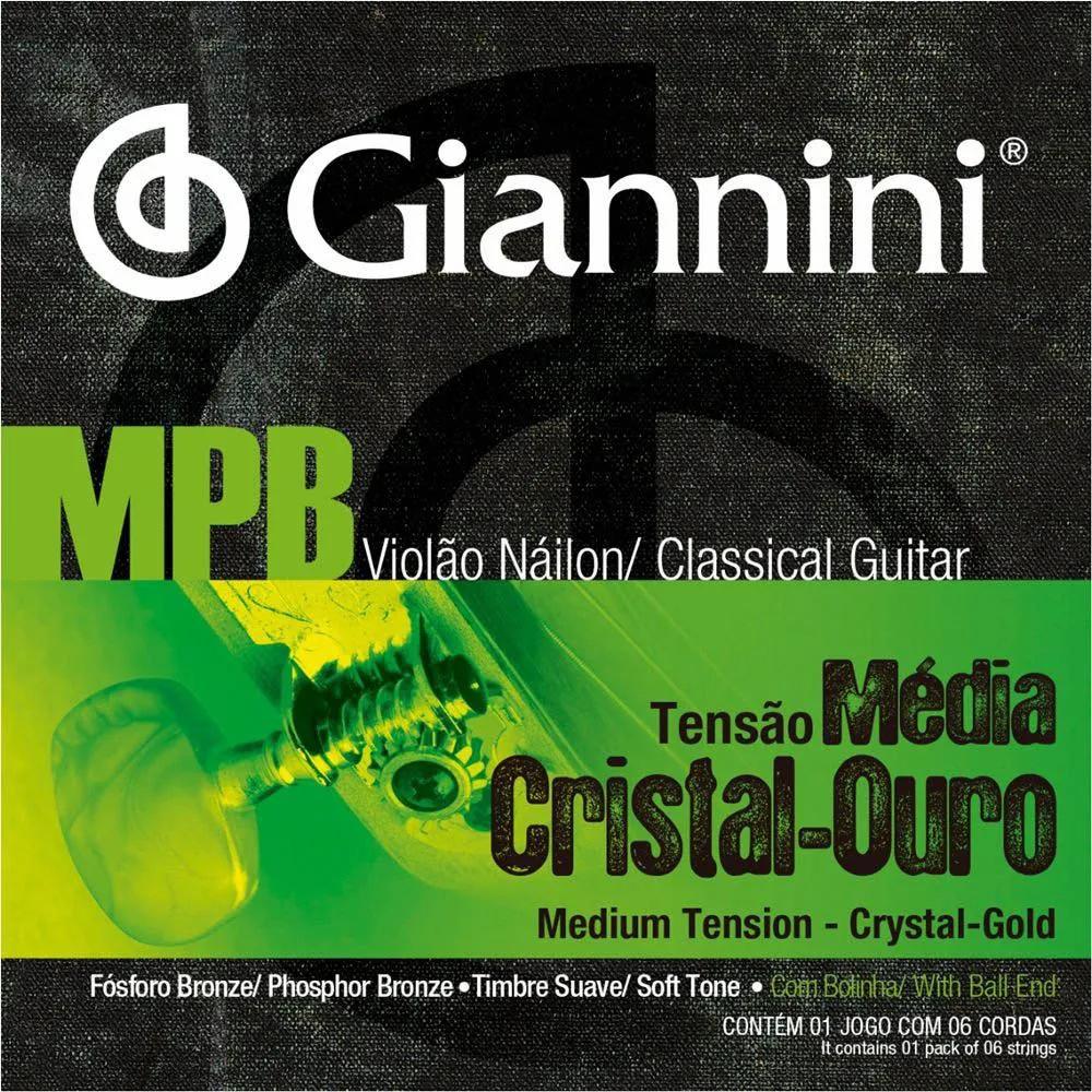 Encordoamento Giannini GENWG 0.028/0.043 para Violão Nylon