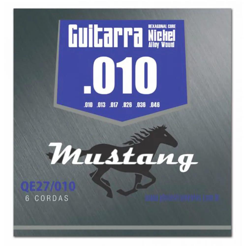 Encordoamento Mustang QE27 .010/.046 para Guitarra