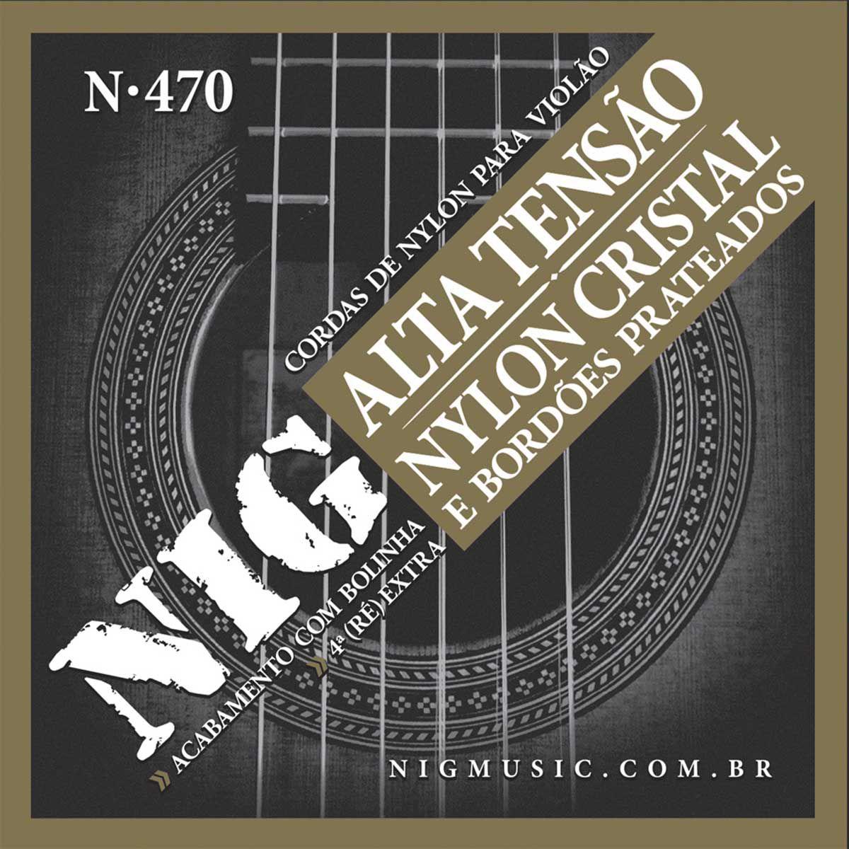 Encordoamento Nig N-470 029/044 para Violão Nylon