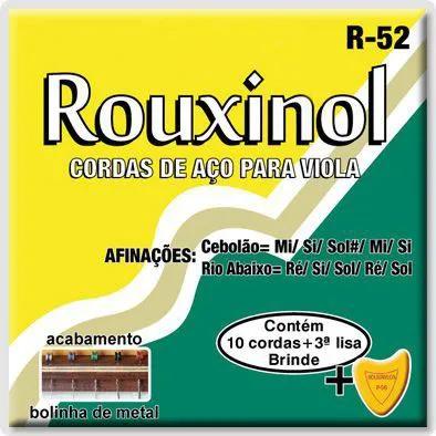 Encordoamento Rouxinol R-52 .011/.027 para Viola