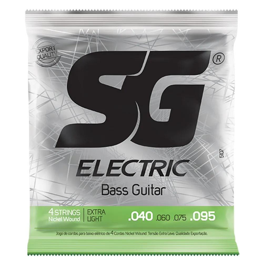 Encordoamento SG Strings .040/.095 Leve para Contrabaixo 4C
