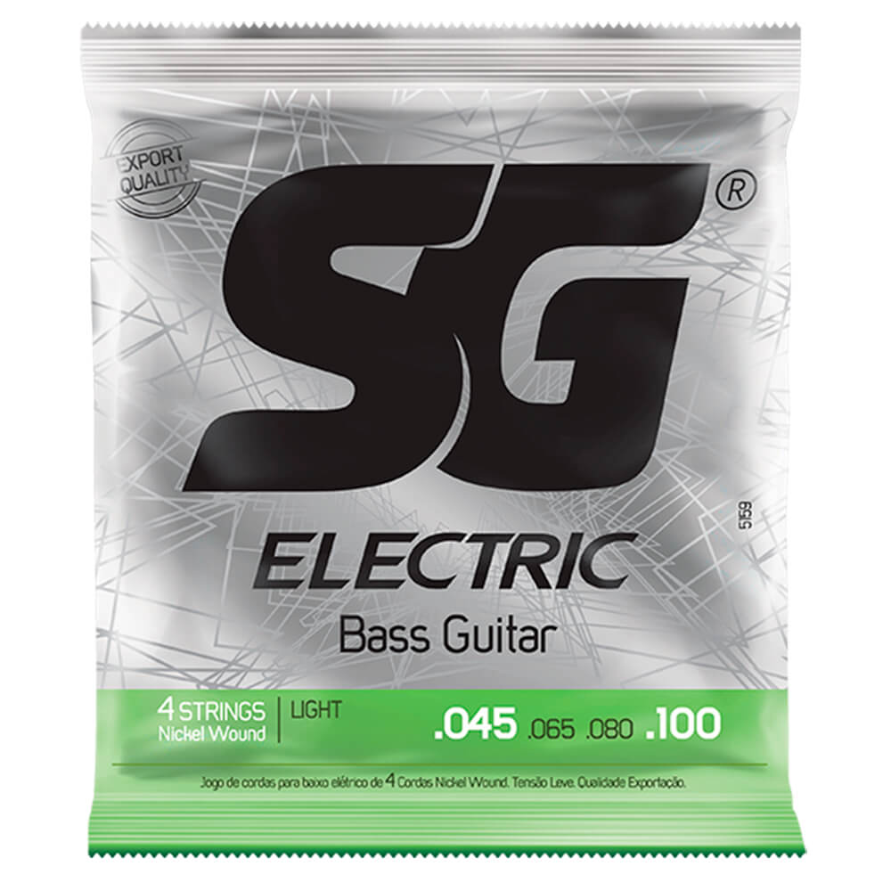Encordoamento SG Strings .045/.100 Leve para Contrabaixo 4C