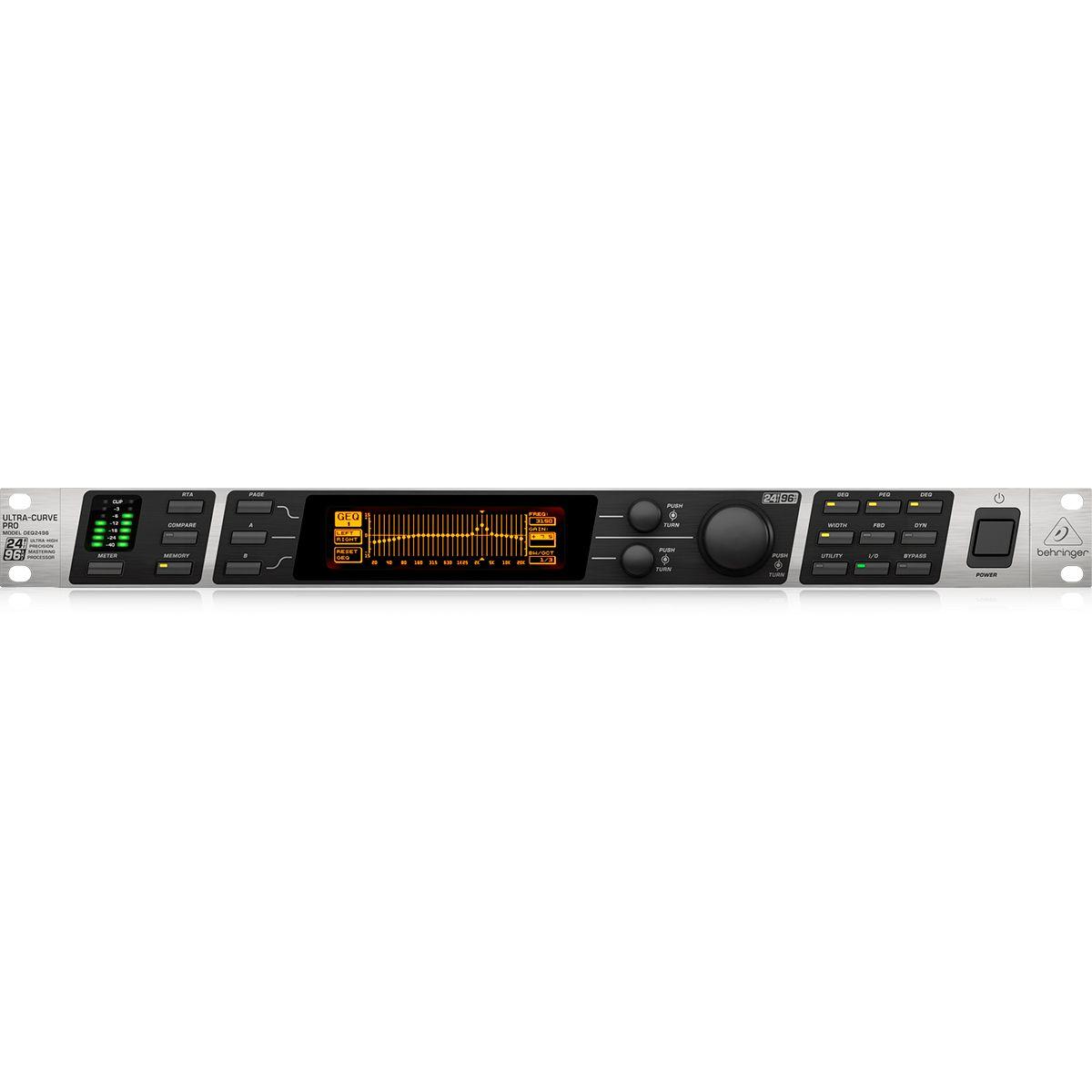 Equalizador Behringer UltraCurve Pro DEQ2496