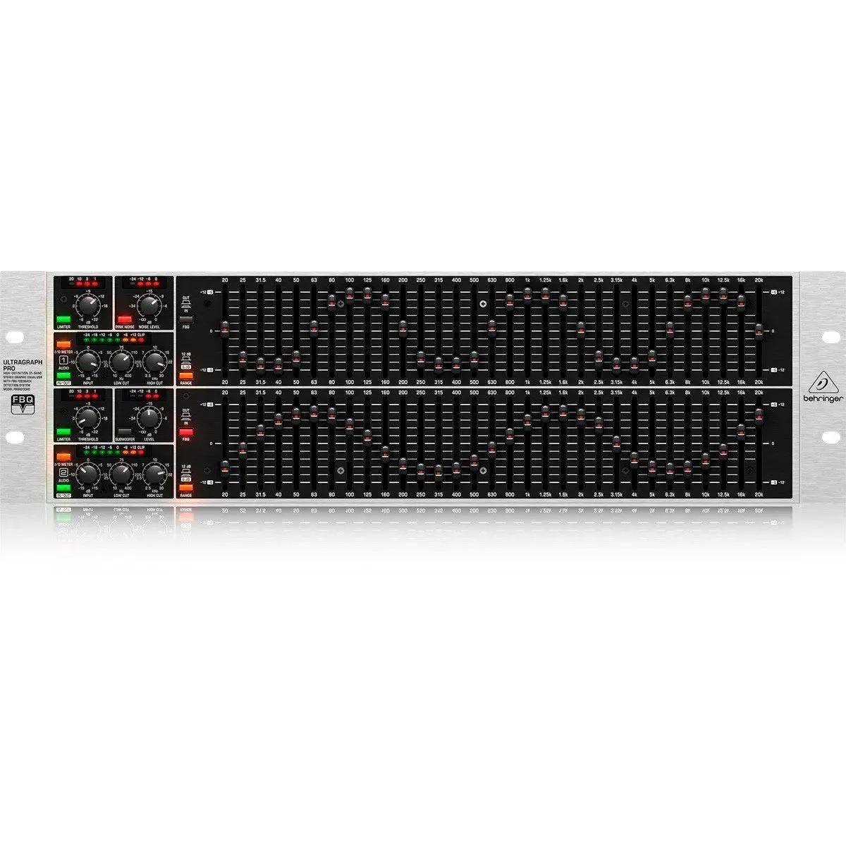 Equalizador Behringer Utragraph Pro FBQ6200