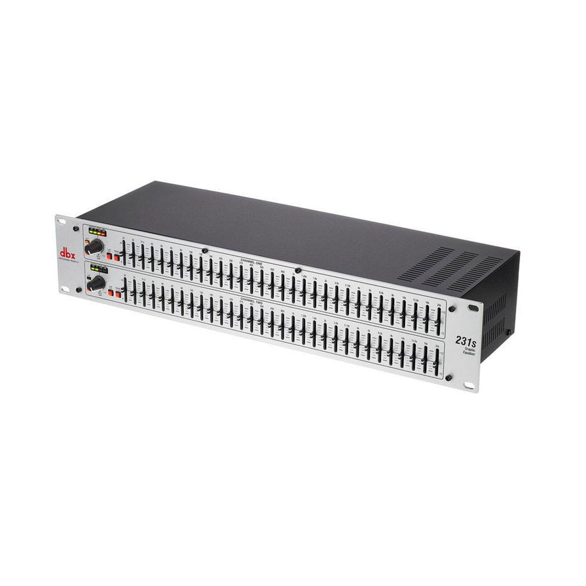 Equalizador Gráfico DBX 231S Dual Channel 31-Band Equalizer Bivolt