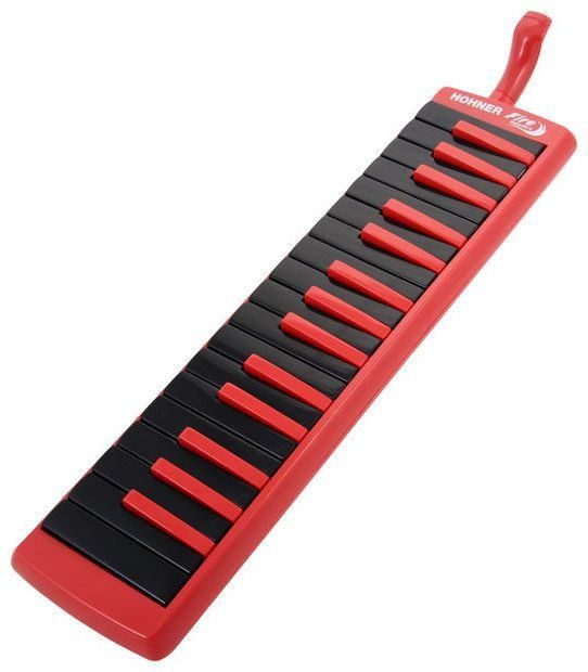 Escaleta Hohner 32 Teclas Fire Red com Estojo