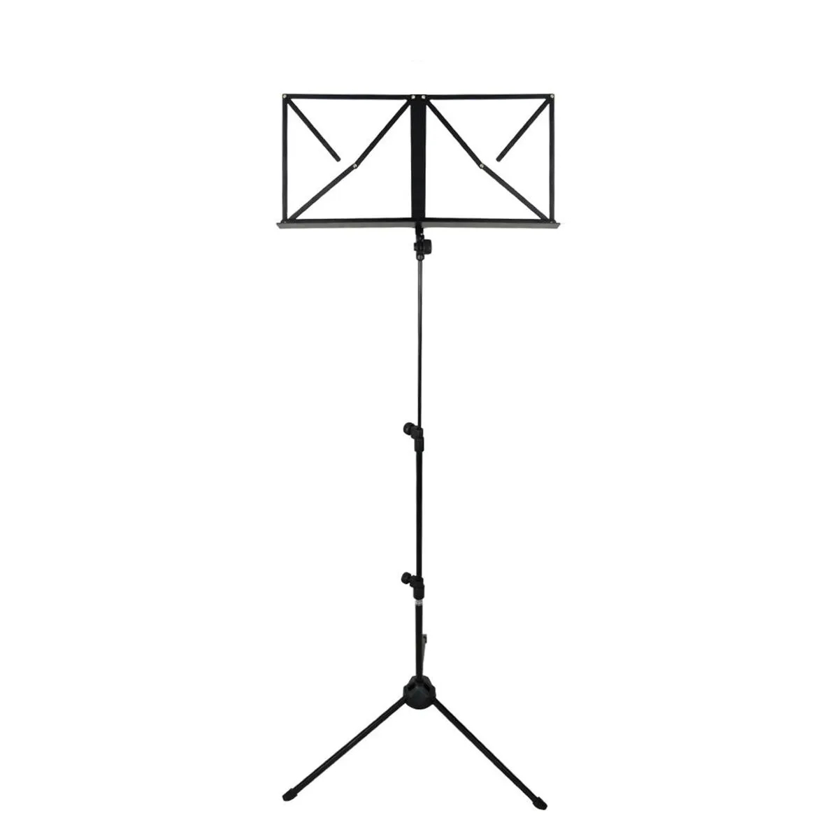 Estante de Partitura PZ ProAudio DF010 Music Standard Preto
