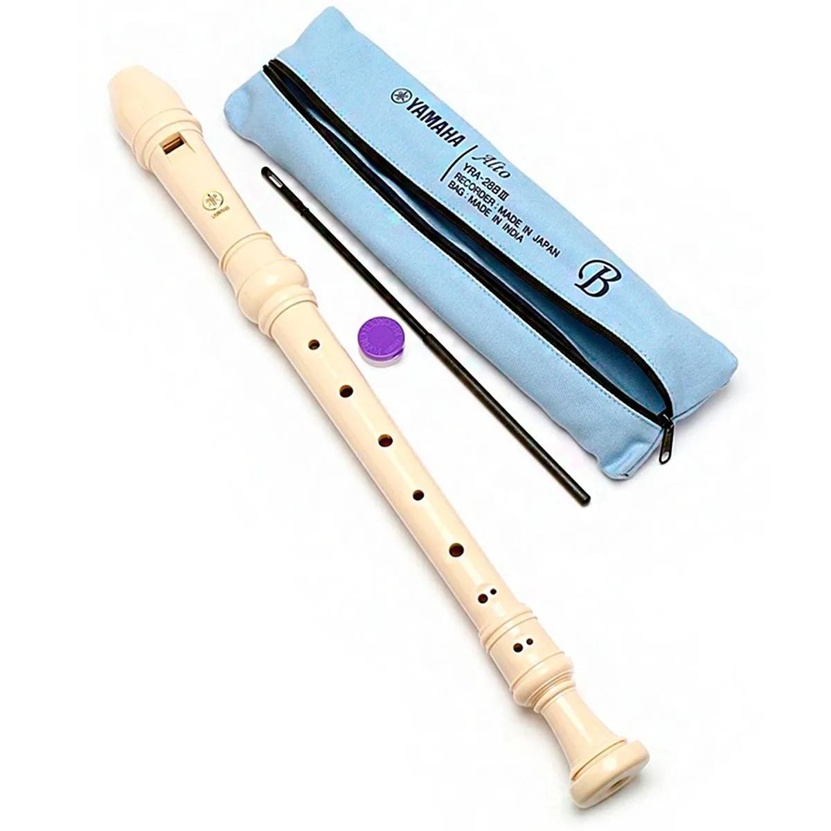 Flauta Doce Contralto Barroca Yamaha Yra-28B