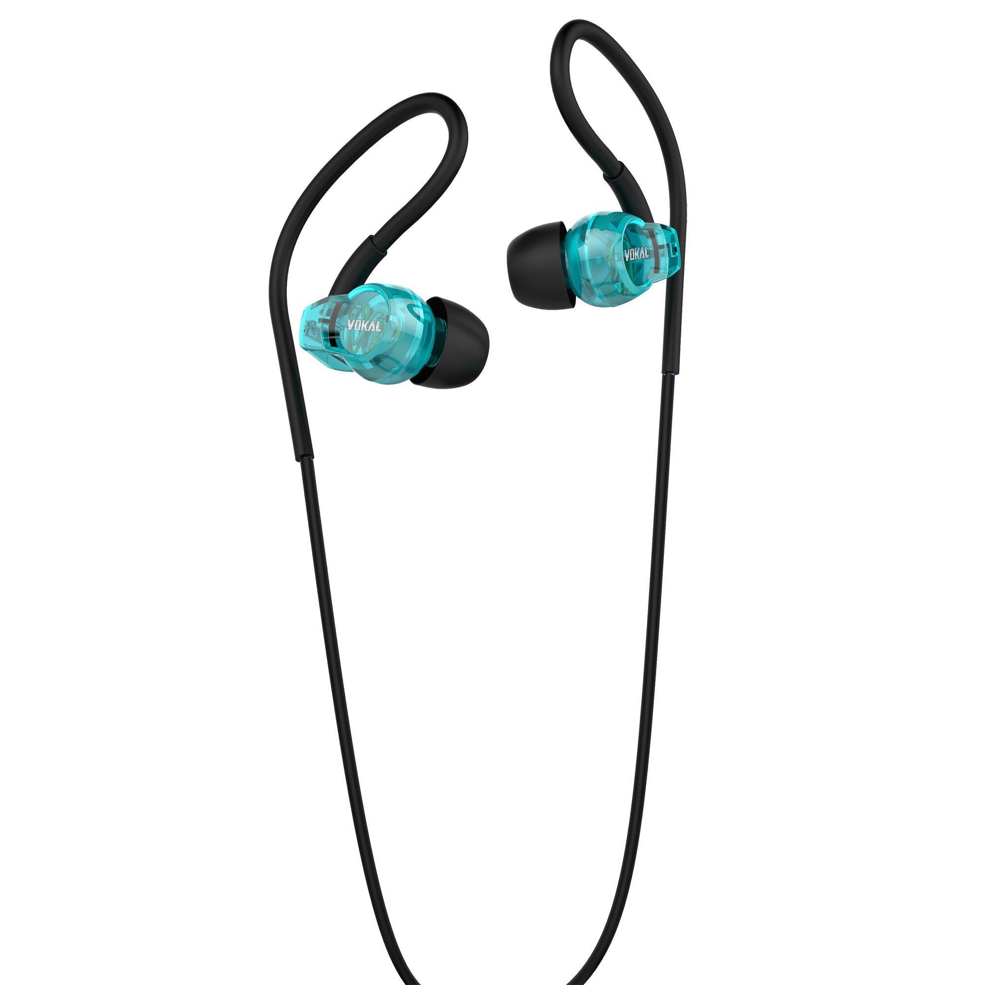 Fone de Ouvido E40 In Ear Azul VOKAL