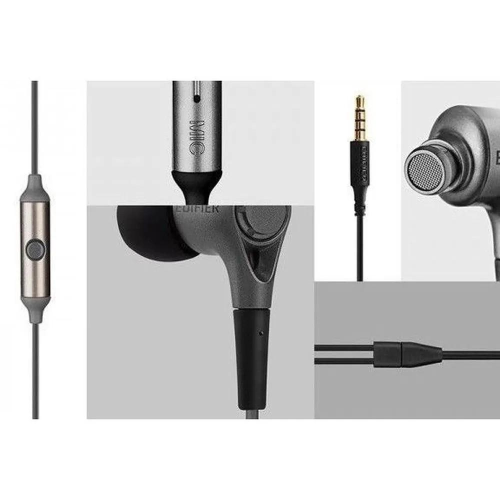 Fone de Ouvido Edifier P230 Stereo In Ear com Microfone
