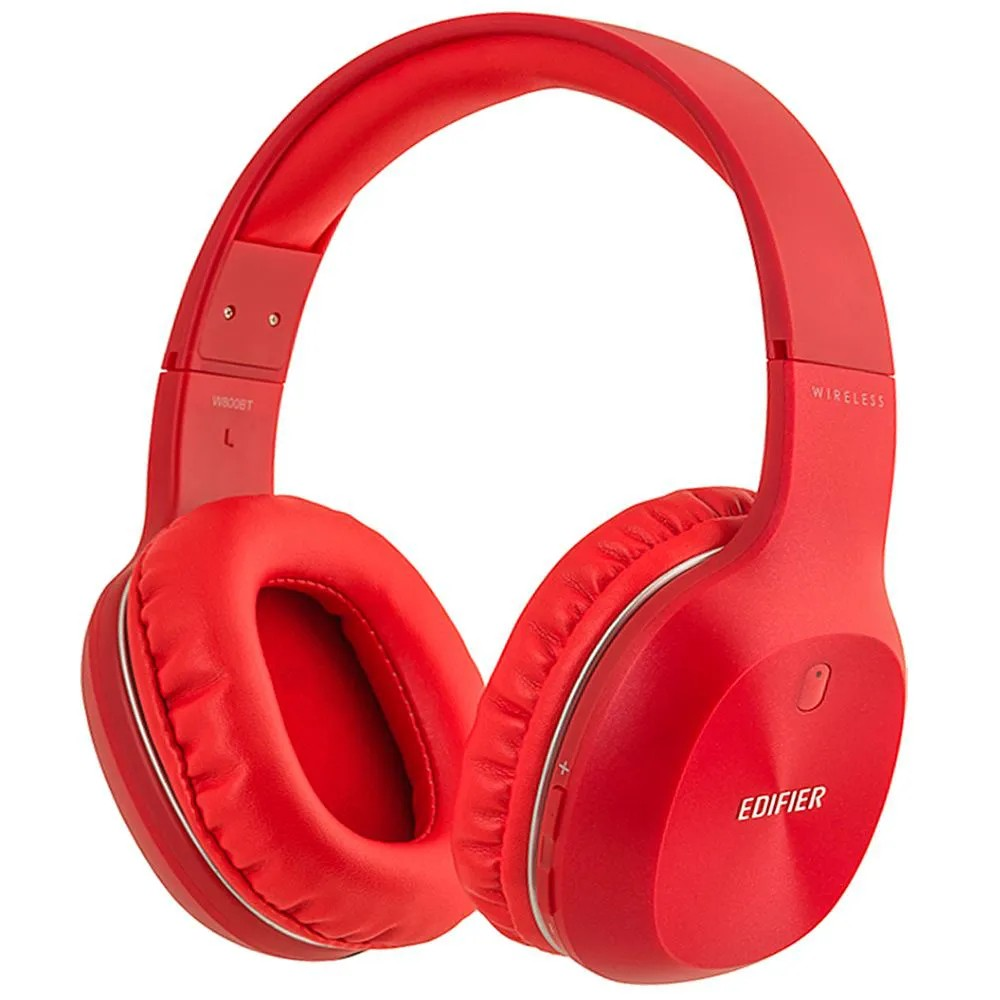 Fone de Ouvido Edifier W800BT Stereo Bluetooth Hi-fi Red